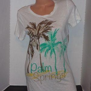 Bay Studio Palm Springs tropical palms tee